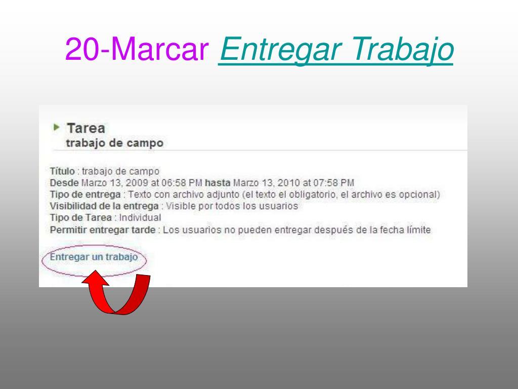 20-Marcar