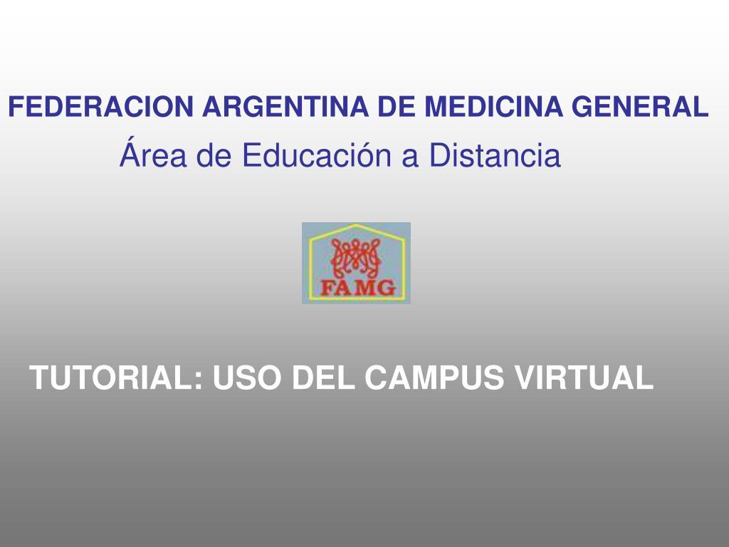FEDERACION ARGENTINA DE MEDICINA GENERAL
