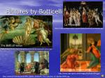 pictures by botticelli