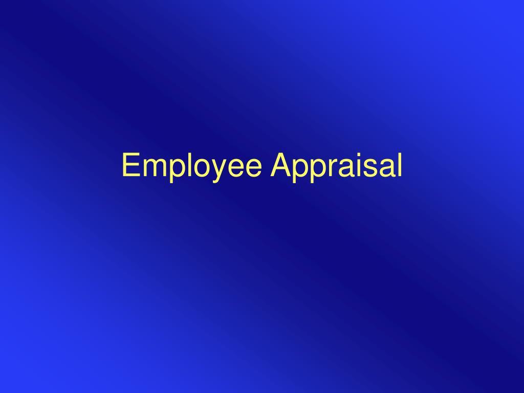 employee appraisal l.