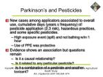 parkinson s and pesticides