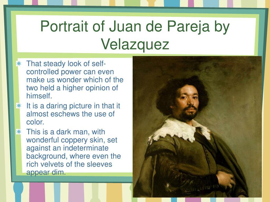 Portrait ofJuan de Pareja by Velazquez