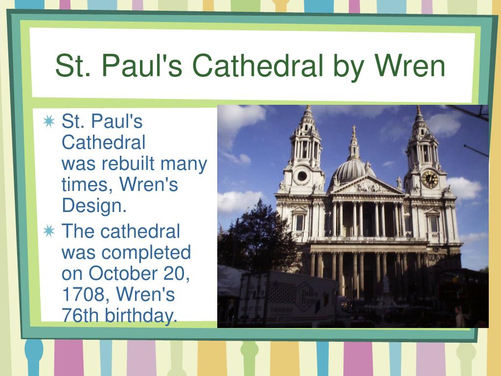 St. Paul's Cathedral by Wren