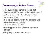 countermajoritarian power