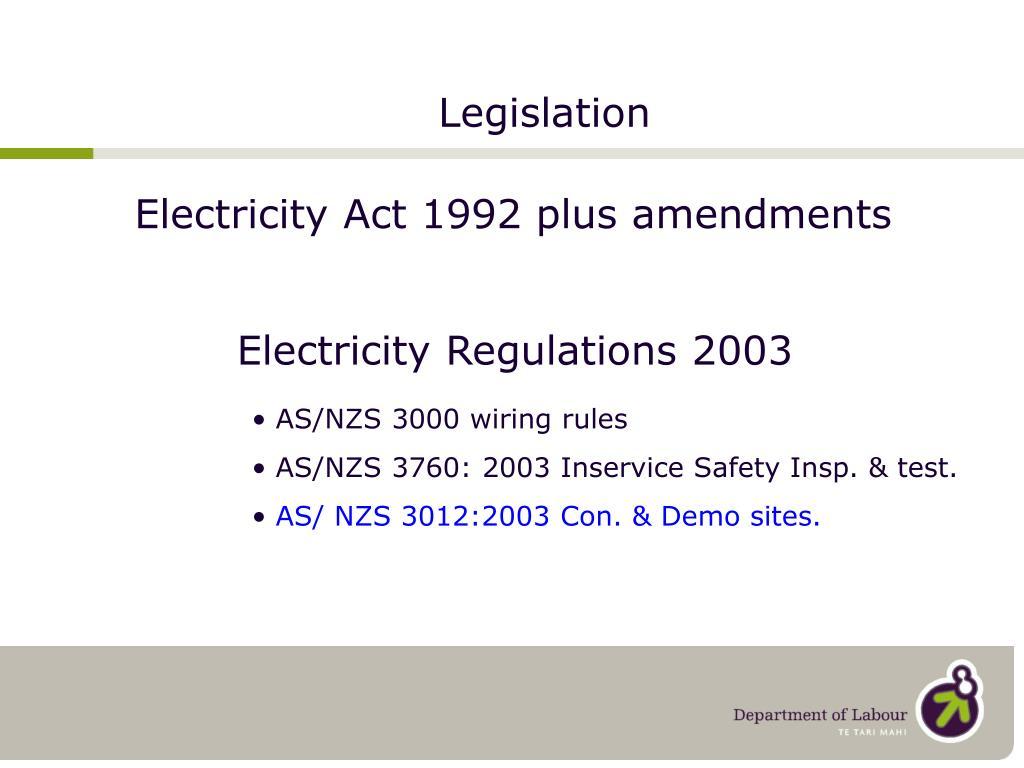 legislation l.