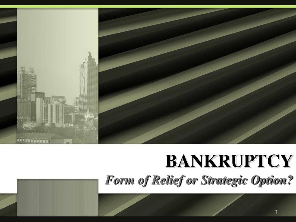 bankruptcy l.