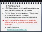formularies