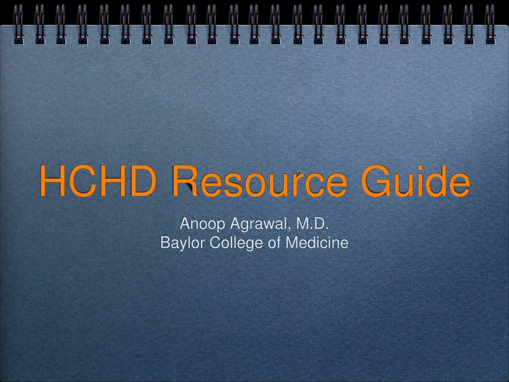 hchd resource guide l.