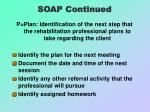 soap continued18