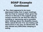 soap example continued21