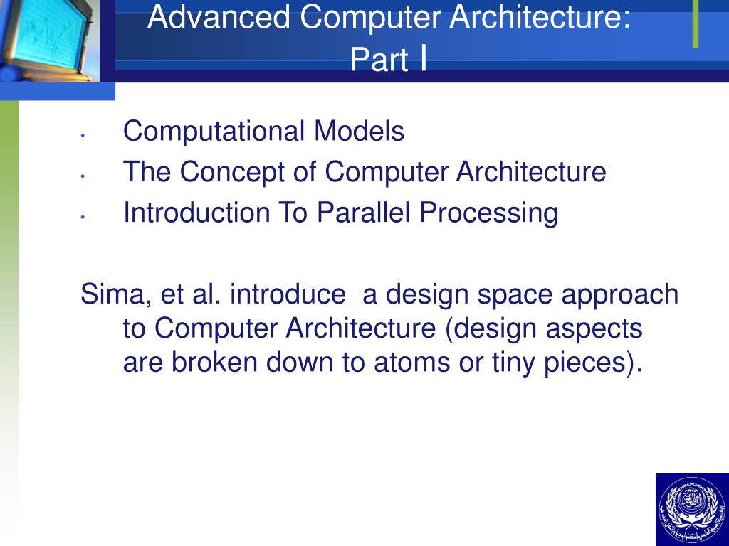 Advanced Computer Architecture: Part