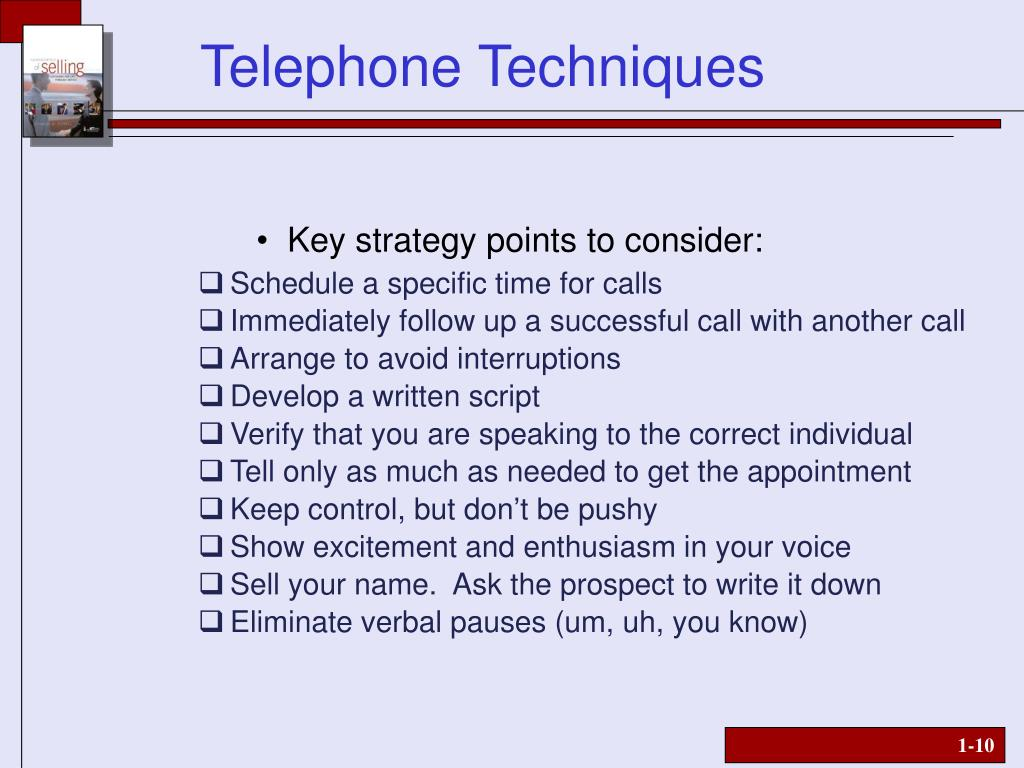 Key strategy points to consider: