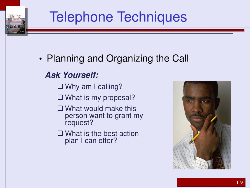 Planning and Organizing the Call