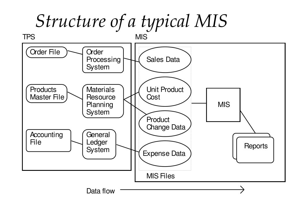 Structure of a typical MIS