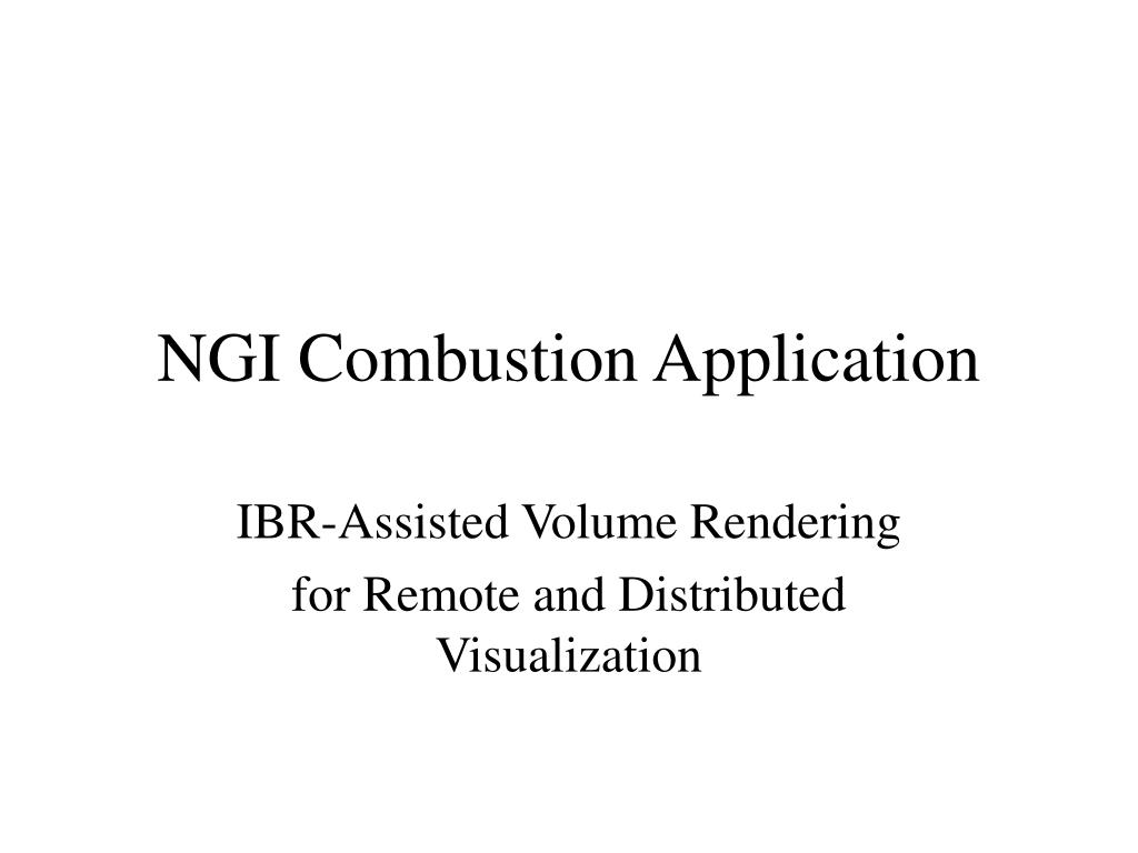 ngi combustion application l.