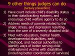 9 other things judges can do tertiary prevention