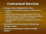 contractual services21
