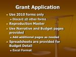 grant application39