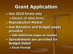 grant application39