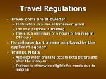 travel regulations26