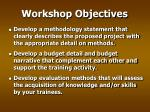workshop objectives4