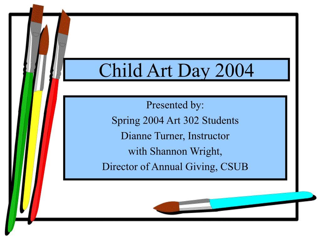 child art day 2004 l.