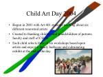 child art day 20042