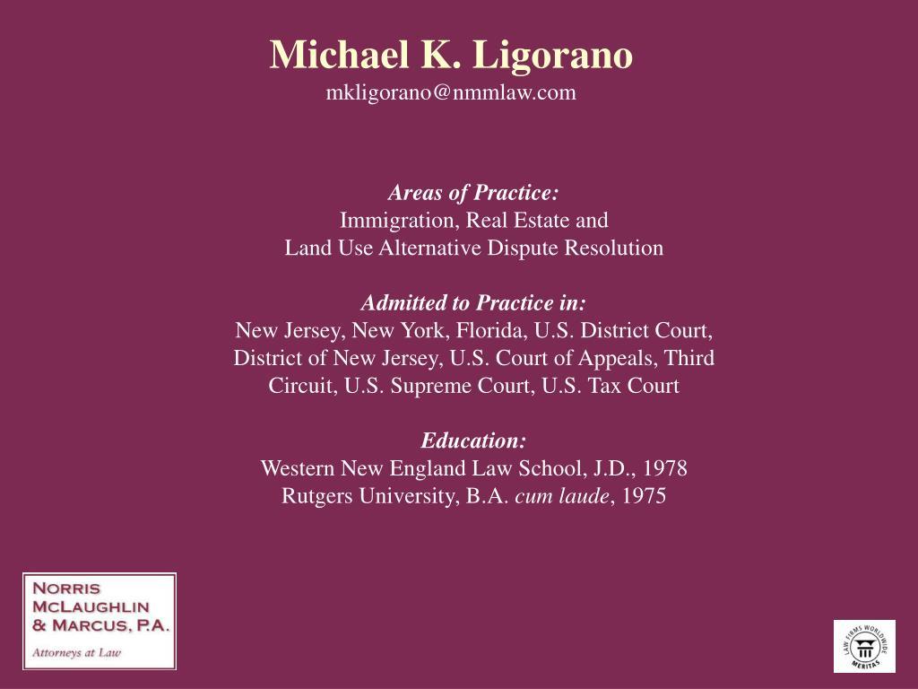 Michael K. Ligorano