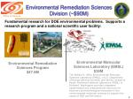 environmental remediation sciences division 90m