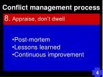 conflict management process113