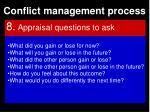 conflict management process114