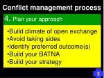 conflict management process73