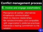 conflict management process96