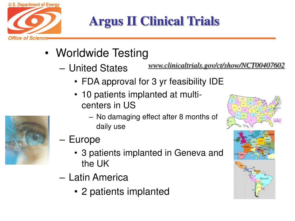 Argus II Clinical Trials