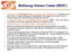 bioenergy science center besc
