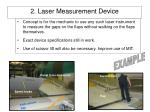 2 laser measurement device
