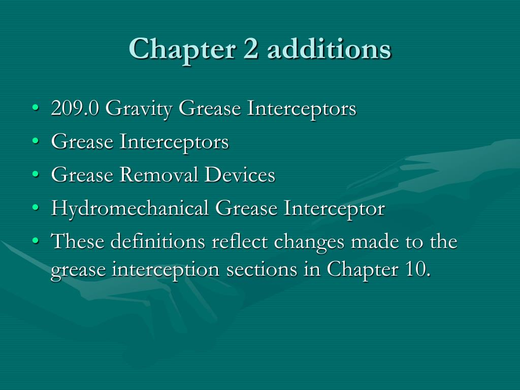 Chapter 2 additions