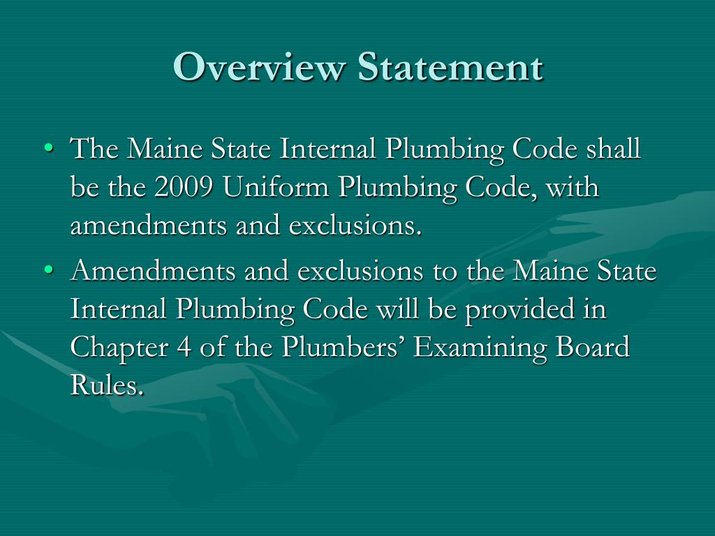 Overview Statement