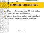 commerce or industry