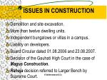 issues in construction3