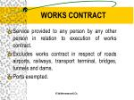 works contract9