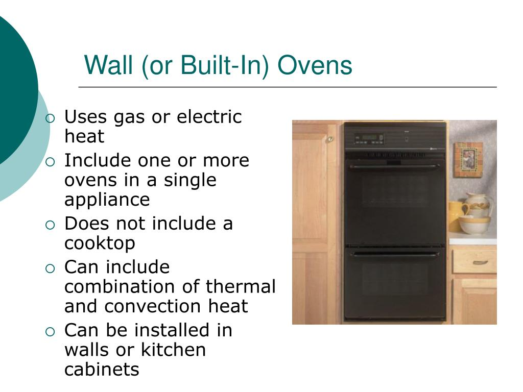 Wall (or Built-In) Ovens