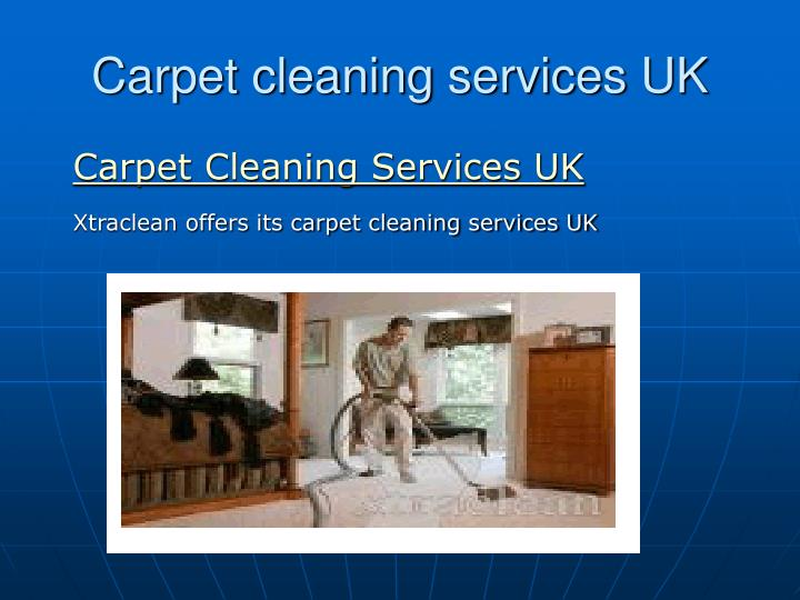 carpet cleaning services uk n.