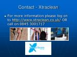 contact xtraclean