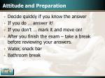 attitude and preparation44