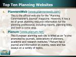 top ten planning websites15