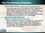 top ten planning websites16