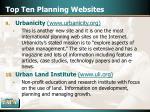 top ten planning websites17