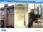 home property damage potential