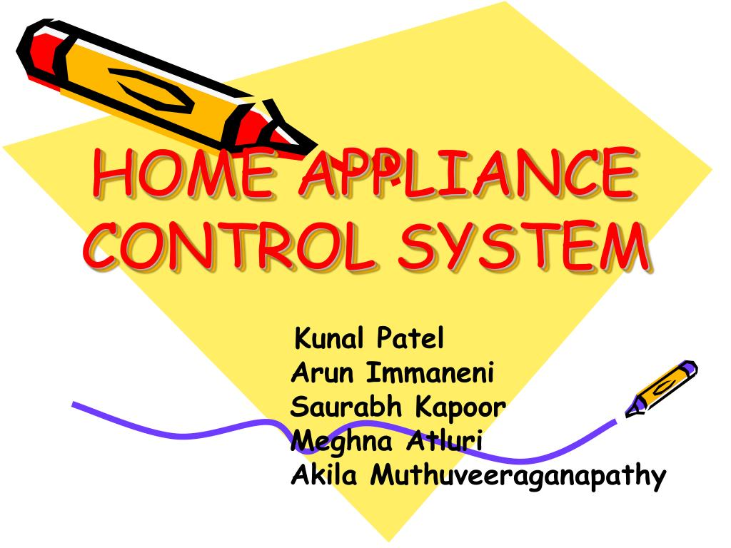 home appliance control system l.